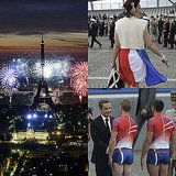 France Shows Its True Colors on Bastille Day