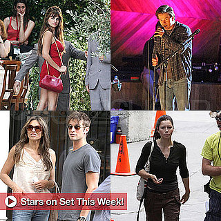 Stars on Movie and TV Sets July 15, 2011
