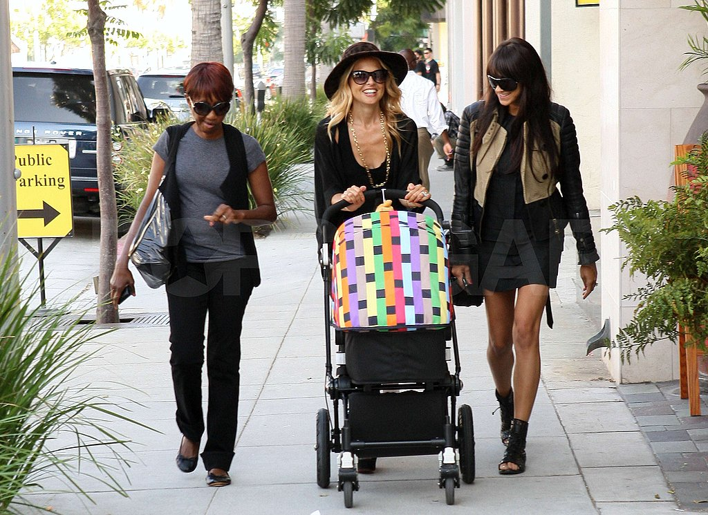 Rachel Zoe was out in LA with Skyler Berman and friends.
