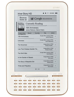 Google eBooks Gets a Dedicated Device