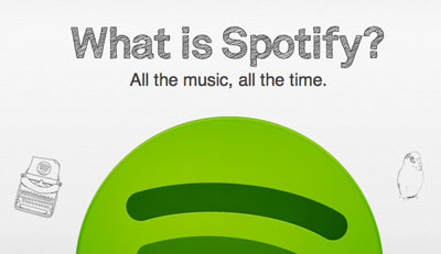 Spotify Lands in the US