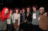 Fans don redhead wigs to replicate the Weasley family at Harry Potter and the Deathly Hallows Part 2 in Australia.