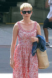 Michelle Williams hangs out in NYC.