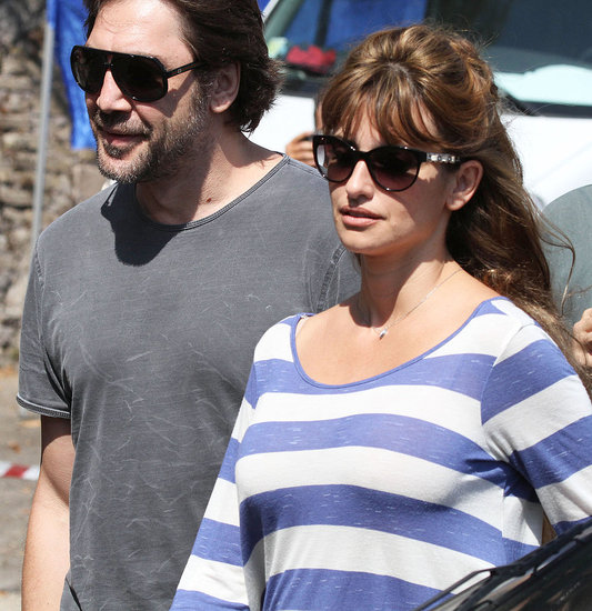 Penelope Cruz with husband Javier Bardem.
