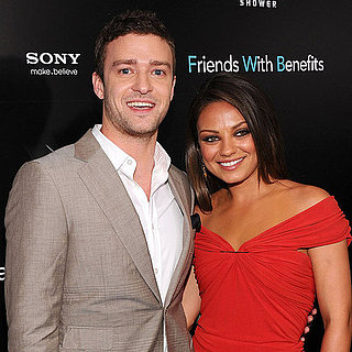 Justin Timberlake and Mila Kunis at Friends With Benefits Premiere