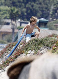 Kate Hudson Hits the Beach With Big Brother Ryder as Matthew Bellamy Grabs Coffee