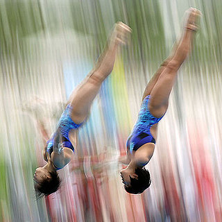 Women's Synchronized Diving in Shanghai