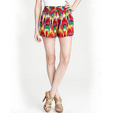 Alice + Olivia Tribal Print Shorts, $176