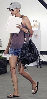 Halle Berry Style With CC Skye Bag
