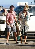 Kate Hudson and Matthew Bellamy joined forces for a trip.
