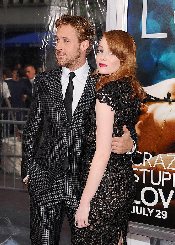Costars Ryan Gosling and Emma Stone at the Crazy Stupid Love premiere in NYC.