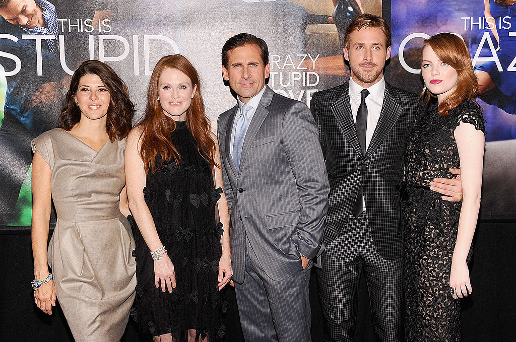 Ryan Gosling and Emma Stone Pose With Their Crazy, Stupid, Love Costars at the NYC Premiere
