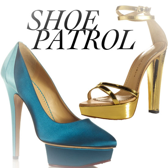 Peep Charlotte Olympia's Sky-High Resort 2012 Collection