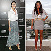 How to Wear a White Blouse: Olivia Palermo and Chrissy Teigen Show Two Ways