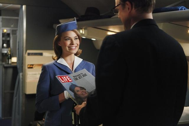 Margot Robbie in ABC&#039;s Pan Am.	
