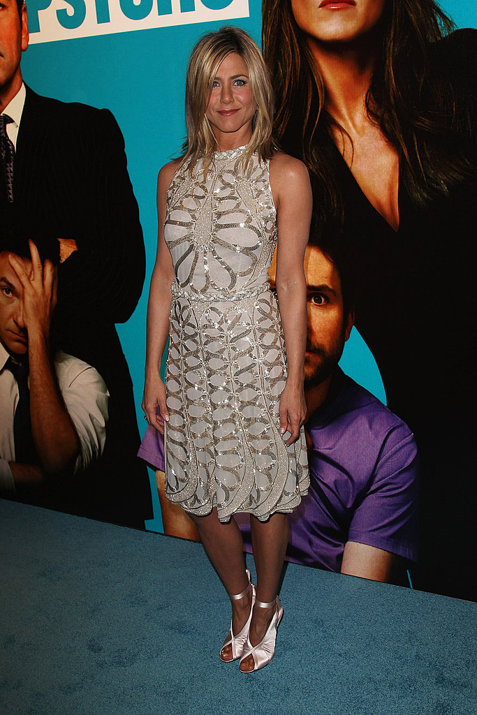 Jennifer Aniston promotes Horrible Bosses in London.