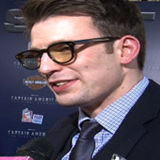 Chris Evans at Captain America Premiere in Los Angeles (Video)