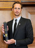 Alexander Skarsgard's Beauty and Brains Get Honored With a Special Degree
