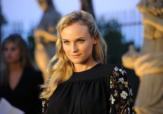 Diane Kruger looking fashionable.