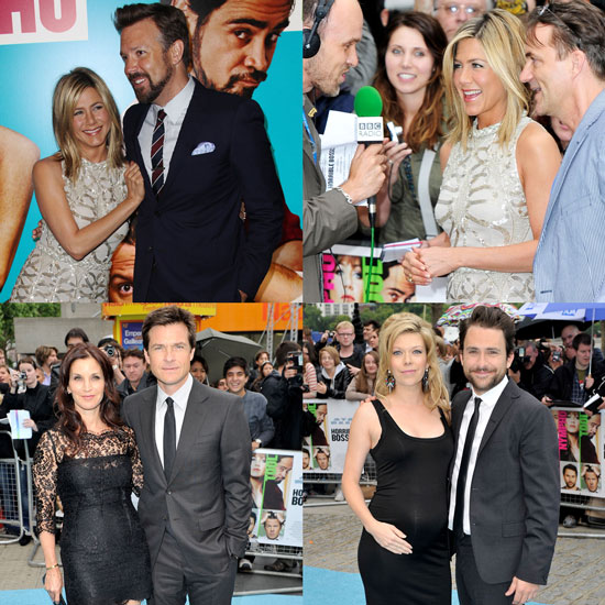 Jennifer Shares the Horrible Bosses Carpet With Costars and Their Leading Ladies