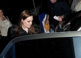 Angelina Jolie Keeps Her LV Close For a Night Out With Friends