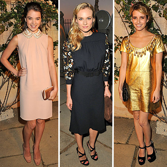 Style Favorites Get Glam For Miu Miu's Film Fête — Who's Most Fab?