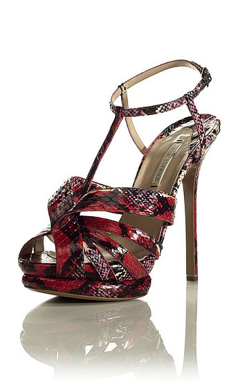 Nicholas Kirkwood Goes Strappy With a Side of Glitter for Resort 2012
