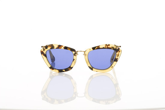 Miu Miu Noir Tartaruga Sunglasses in Royal