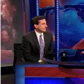 Steve Carell Return to The Daily Show With Jon Stewart Video