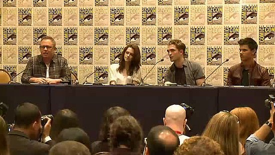 Video: Robert Pattinson, Kristen Stewart, and Taylor Lautner Reveal Their Favorite Breaking Dawn Scenes