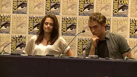 "Video: Robert Pattinson, Kristen Stewart, and Taylor Lautner Talk About Their ""Nerdy"" Sides at Comic-Con"
