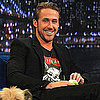 Ryan Gosling Pictures With His Dog on Jimmy Fallon