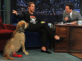 Ryan Gosling on Late Night With Jimmy Fallon.