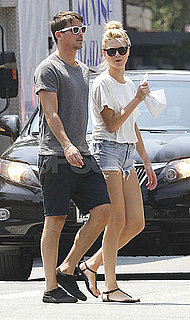 Josh Hartnett and Sophia Lie Walking in NYC Pictures