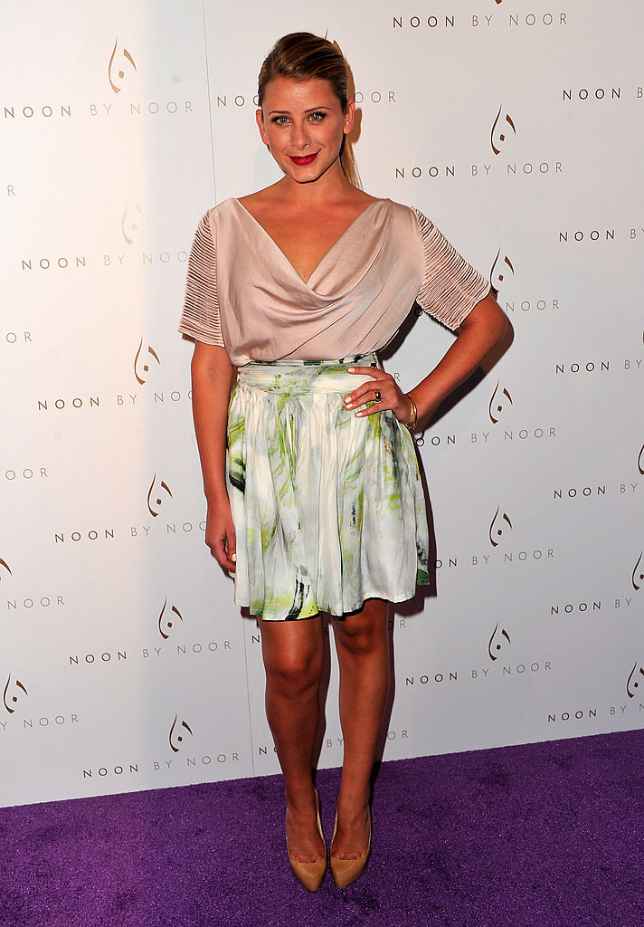 Lo Bosworth stepped out solo for the event.