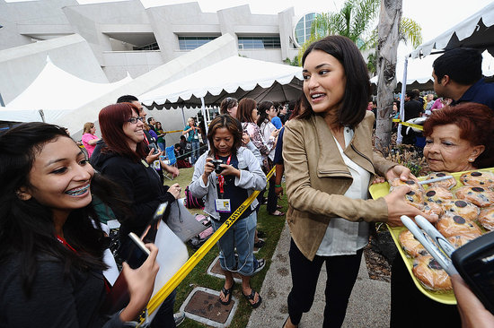 Julia Jones at Comic-Con.