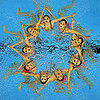 Pictures of Synchronized Swimmers