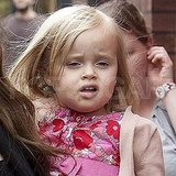 Vivienne Jolie-Pitt in London.