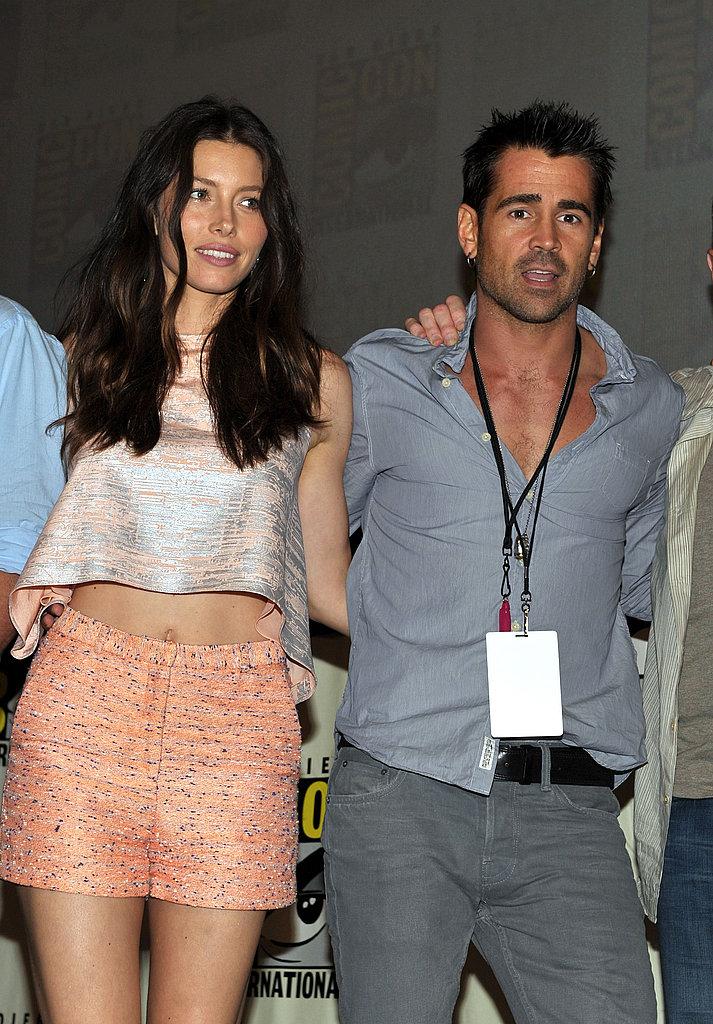 Jessica Biel and Colin Farrell
