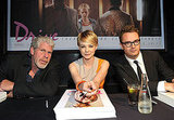 Carey Mulligan teamed up with her director, Nicolas Winding Refn, and costar Ron Perlman.