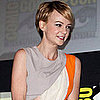 Carey Mulligan Pictures in Cutout Roksanda Ilincic at Comic-Con