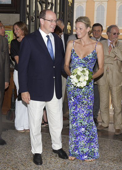 Prince Albert and Charlene Wittstock Visit Their Own Royal Wedding Exhibit