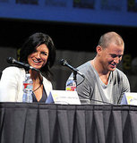 Gina Carano and Channing Tatum