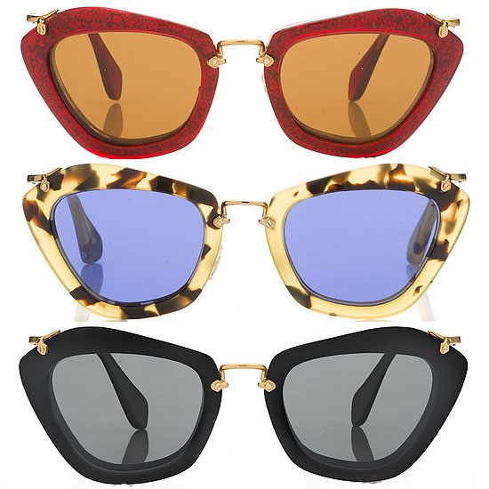 Eye Candy — Miu Miu's 40's-Inspired Fall Sunglasses