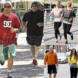 10 Celebrities Who Work Out With Friends and Trainers