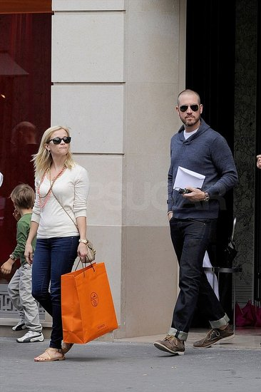 Jim and Reese Stock Up on Luxury Items During Their Parisian Honeymoon