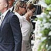 Angelina Jolie and Brad Pitt Pictures at London&#039;s Dorchester