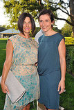Jessica Seinfeld and Delphine Krakoff at a Baby Buggy party.