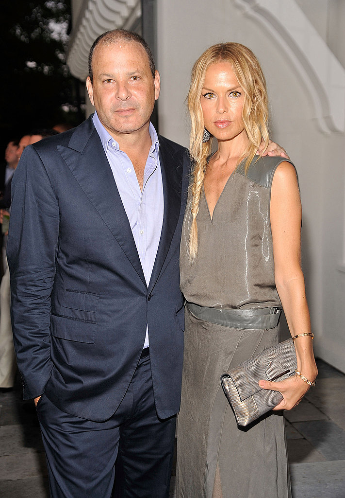 Designers Reed Krakoff and Rachel Zoe in East Hampton.