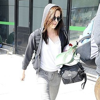 Kristen Stewart Pictures at Heathrow Airport